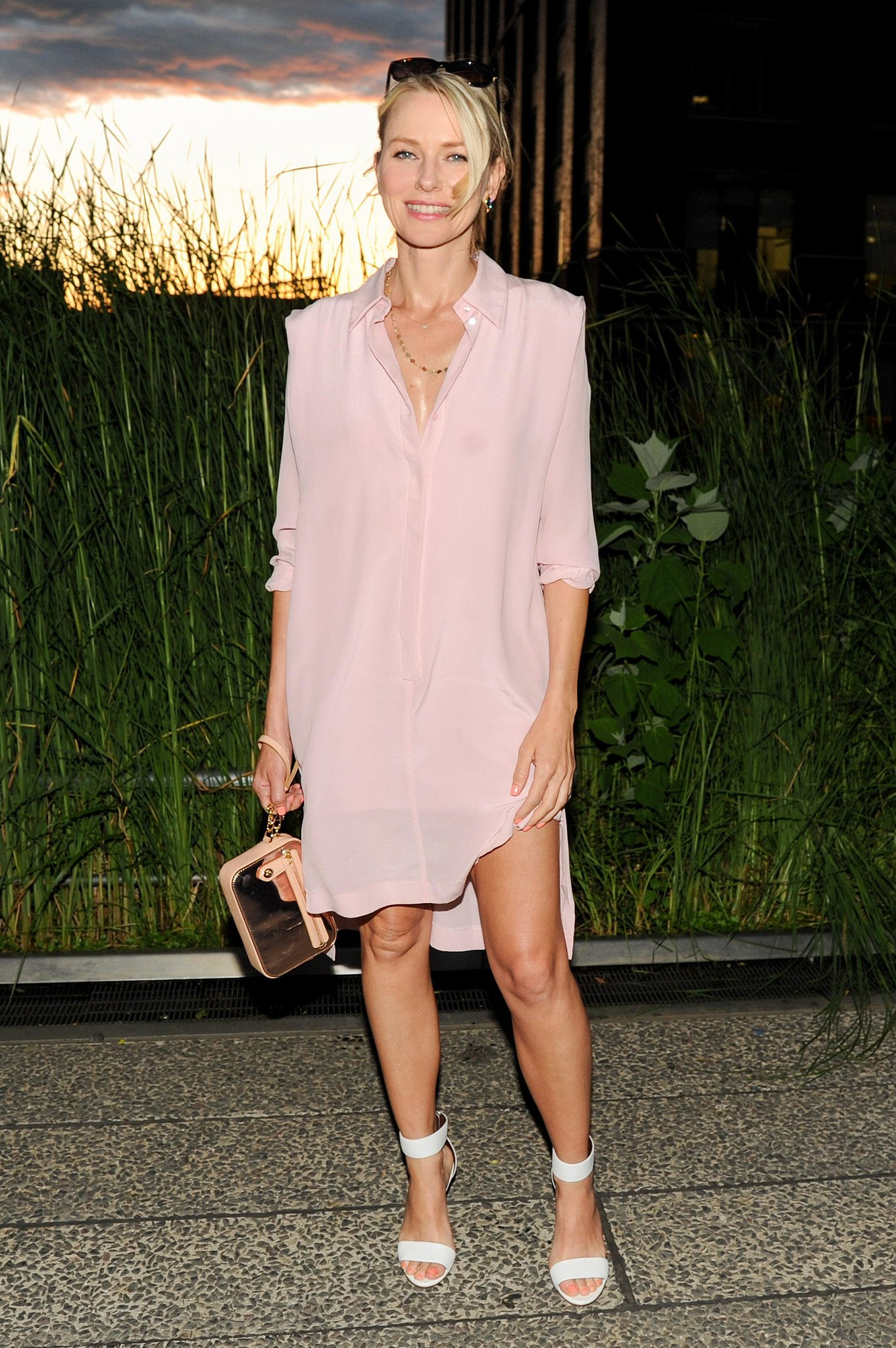 Naomi Watts at the Coach Summer party on the High Line in New York.  Photo courtesy of Neil Rasmus/BFAnyc.com
