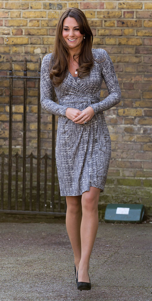 On Feb. 19, Kate Middleton visited Hope House in London after taking a short vacation with her family and Prince William.