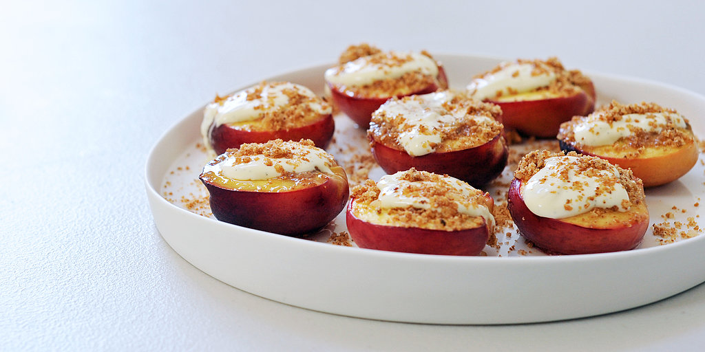 Off the Bookshelf: Honey-Baked Nectarines