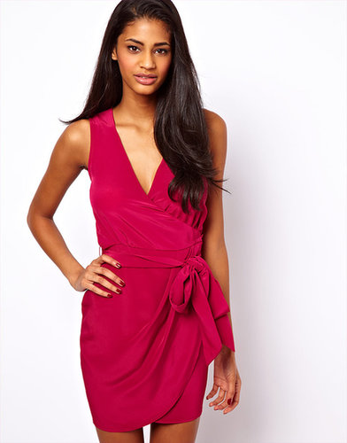 ASOS Sleeveless Wrap Dress