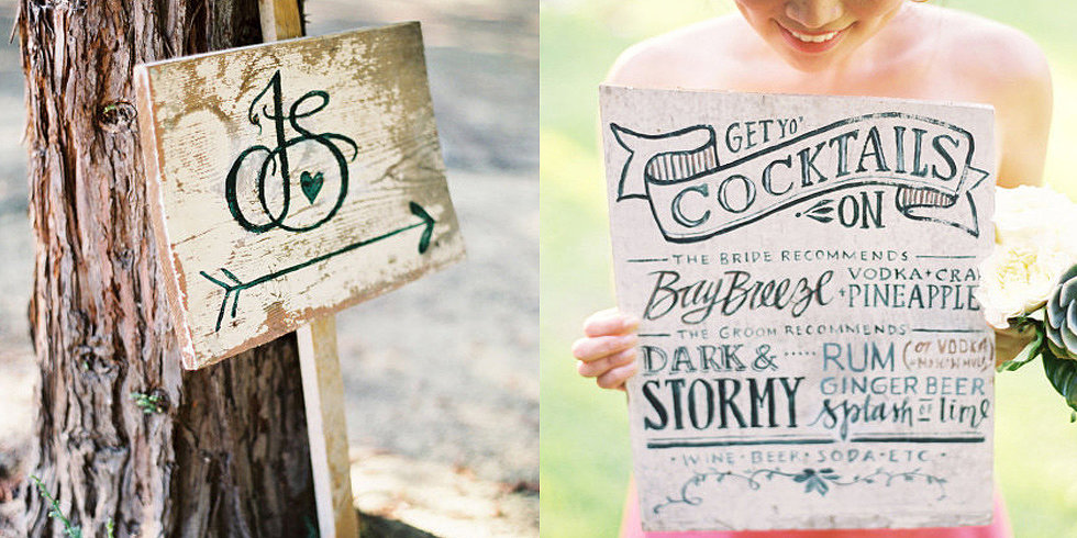 33 Creative Wedding Signs to Bring Personality to Your Big Day