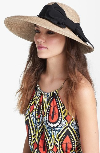 Nordstrom Asymmetrical Straw Hat
