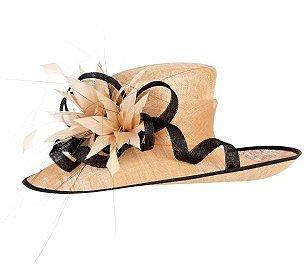 Caramel Occasion Hat