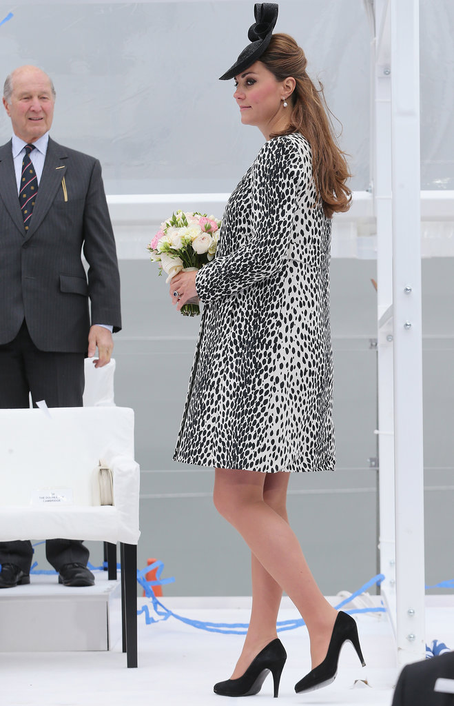 Kate Middleton Makes a Smashing Final Appearance Before Her Leave