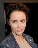 Abigail Spencer's braid crown looked beautiful from the front . . .