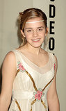 She dressed up her updo with a boho-like headband at the premiere of Harry Potter and the Goblet of Fire in 2005.