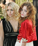 At the 2005 amfAR Gala, they both went with textured curls. However, Ashely stayed blond, while Mary-Kate was still flaunting reddish-tinged hair.