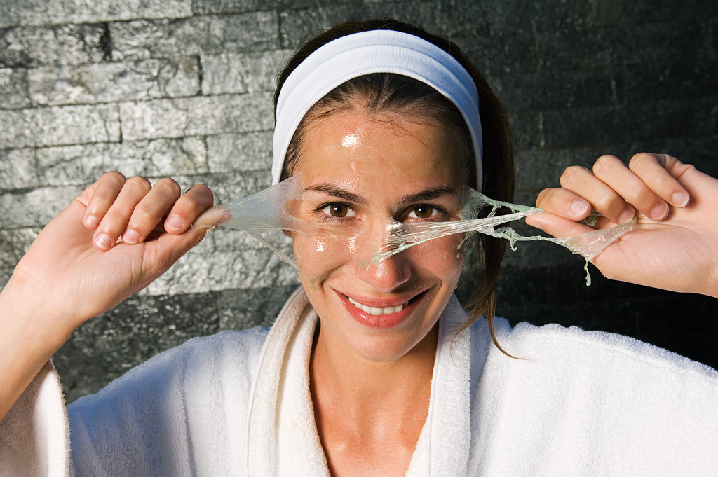 A Brightening, Peel-Off Mask