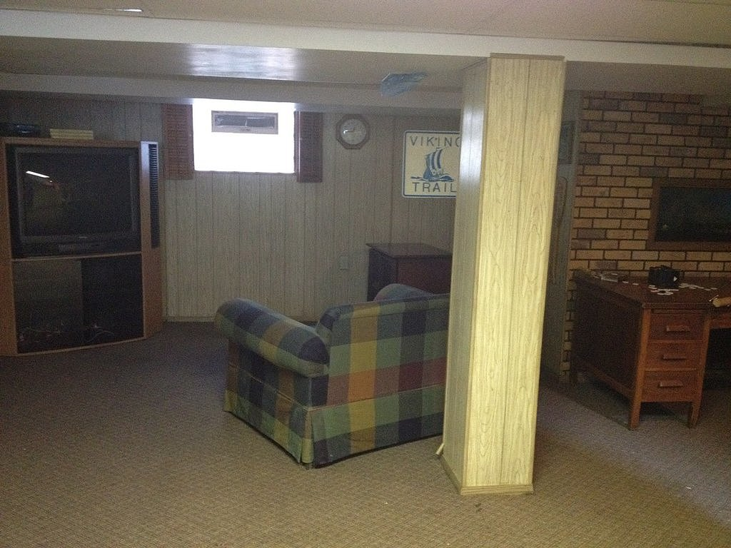 An Outdated Basement