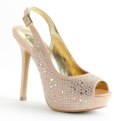 Candie's peep-toe platform high heels - women