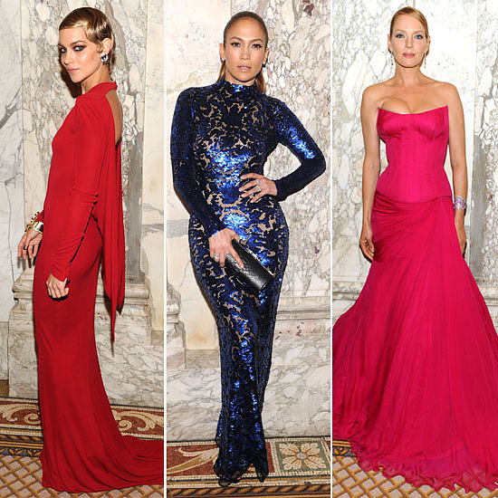 All the Glamour from the amfAR Inspiration Gala