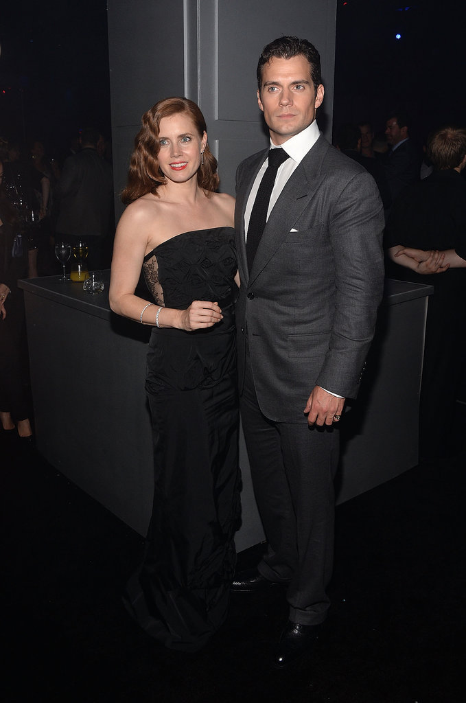 Man of Steel stars Amy Adams and Henry Cavill looked suitably dapper at the after-party for the world premiere of their new film on June 10.