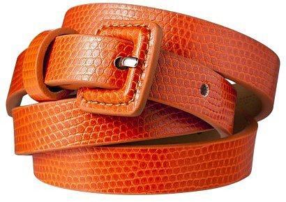 Merona® Skinny Belt with Harness - Orange