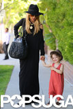 Rachel Zoe and Skyler Berman went for a walk in Beverly Hills.