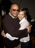 Quincy and Rashida Jones