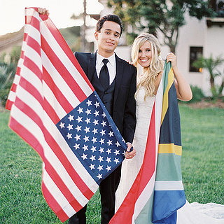 Wedding Decor Ideas With Flags