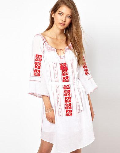 Vanessa Bruno Athe Embroidered Dress