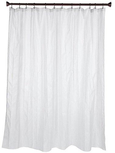 InterDesign - Pin Tuck Shower Curtain (White) - Home
