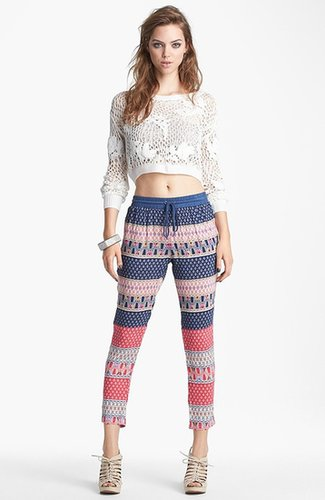 Lucca Couture Print Pants