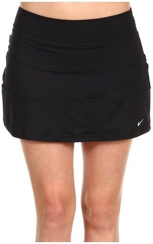 Nike - Baseline Knit Skort (Black/White) - Apparel