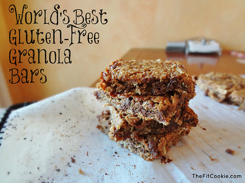World's Best Gluten-Free Granola Bars