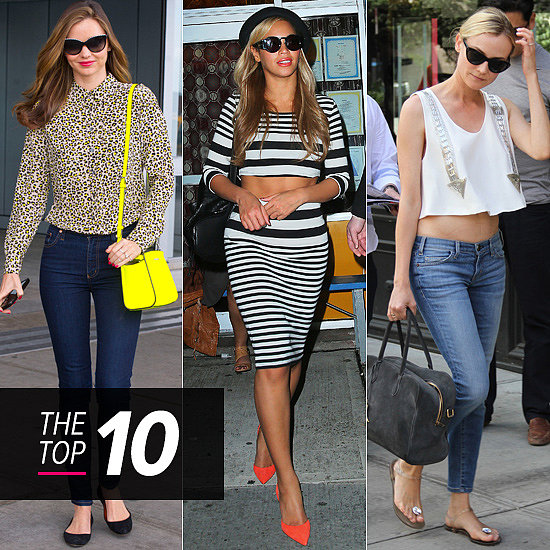 Top 10 Best Dressed Of The Week: Miranda, Beyoncé & Diane's Street Style Leads The Way