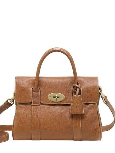 Small Bayswater Natural Leather Bag