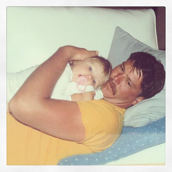 Candice Swanepoel posted this snap of her dad on her Instagram. Source: Instagram user angelcandices