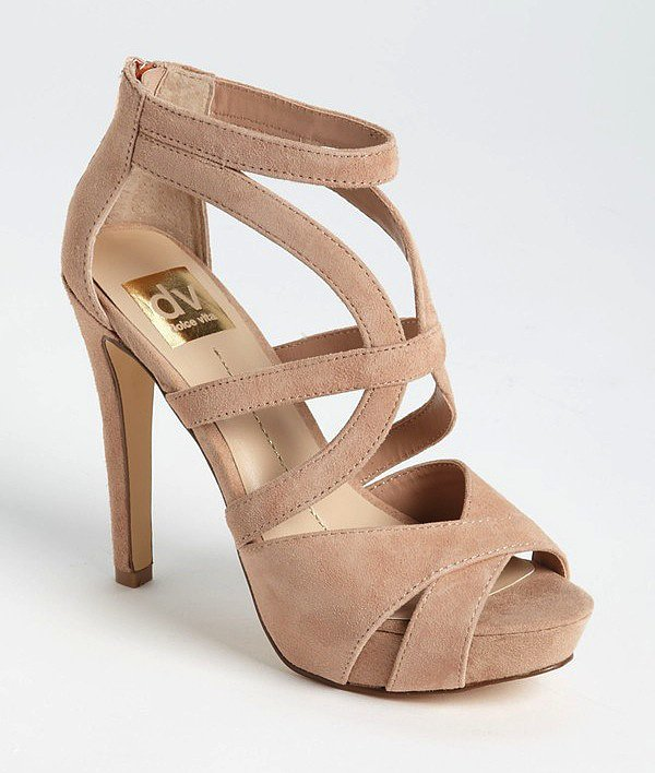 We admire the multiple straps and cozy suede on DV by Dolce Vita's Balla sandals ($89).