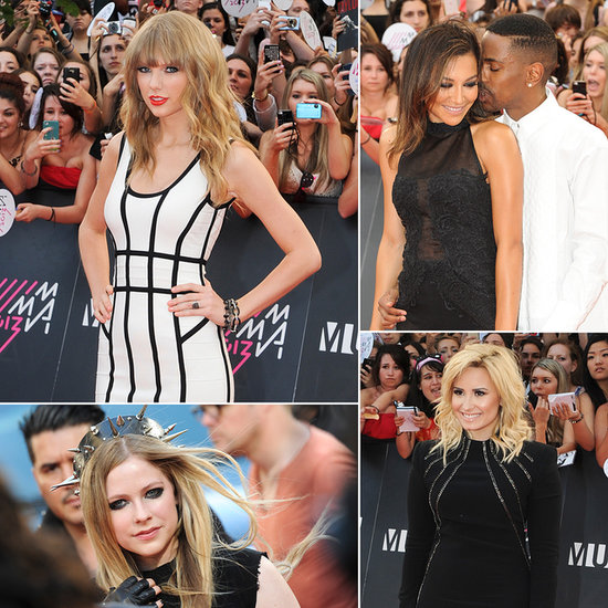 Taylor Swift Makes a White-Hot Appearance at the MusicMusic Video Awards