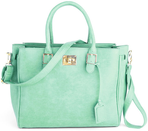 Downtown Day Trip Bag in Mint
