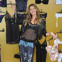 Gisele Bundchen Pictures Launching Lingerie Line in Brazil