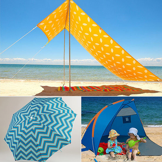 Gimme Shelter! 11 Great Ways to Shade Your Kids at the Beach