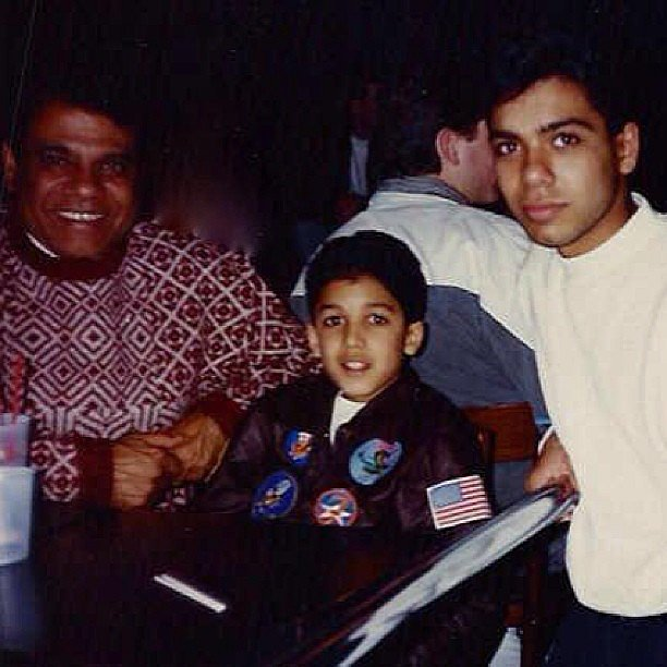 No Doubt's Tony Kanal shared a snap from his younger days. Source: Instagram user nodoubt