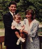 Dianna Agron shared a classic photo of her handsome papa. Source: Twitter user diannaagron