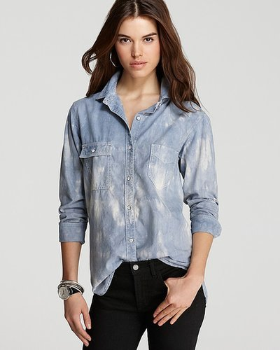 rag & bone/JEAN Shirt - The Trail Shirt in Tie Dye