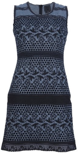 Anna Sui embroidered eyelet dress