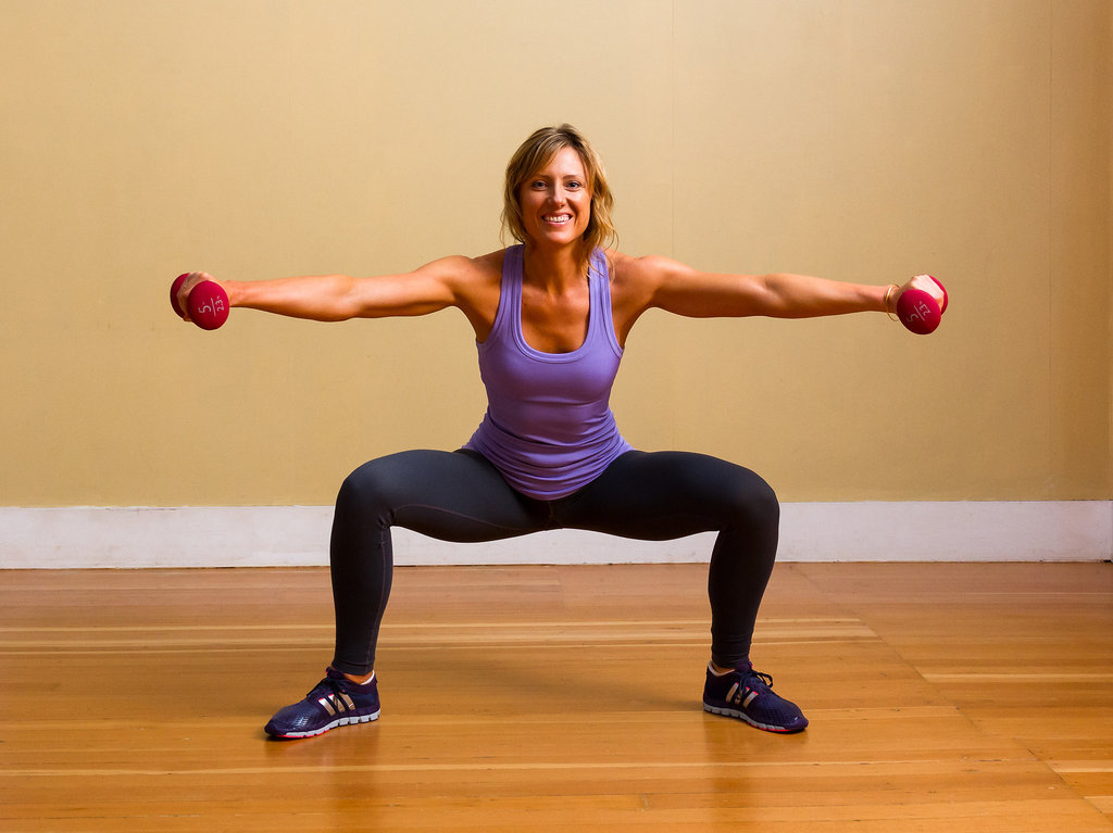 Exercise 4: Plié Squats