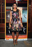 For the 2012 opening night of the American Ballet Theatre, Solange stepped out in a floral ballet-inspired dress with embellished pumps, both by Dolce & Gabbana.