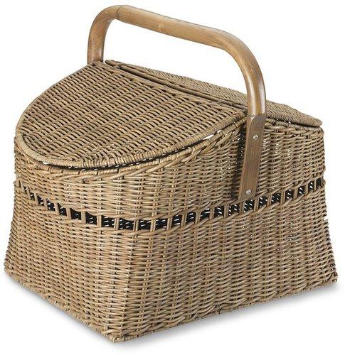 Rattan Woven Picnic Basket