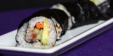 A Vegetable Sushi Roll With 2 Secret Ingredients