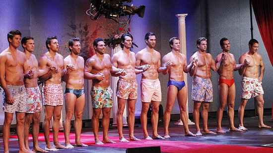 Video: The Bachelorette's Mr. America Pageant — Men in Heels, Speedos, and More!