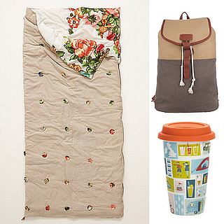 10 Stylish Camping Supplies: Floral Tent, Cute Sleeping Bag