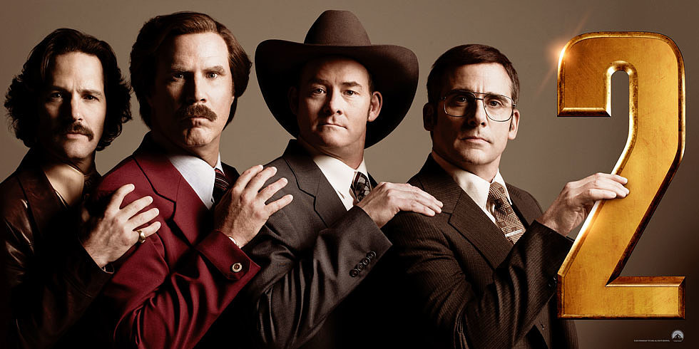 Anchorman: The Legend Continues Trailer — Ron Burgundy Takes On the '80s