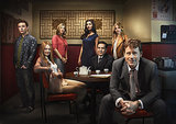 Ian Colletti, Miranda Otto, Tara Summers, Necar Zadegan, John Ortiz, Bojana Novakovic, and Greg Kinnear in Rake.