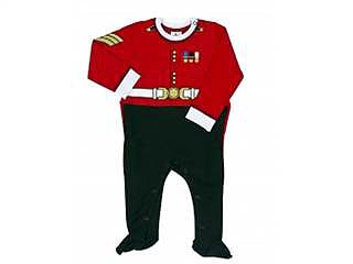 This sweet Guardsman Sleep Suit ($17) is exclusive to the Royal Collection Trust Shop, Buckingham Palace's  official retailer of royal memorabilia.