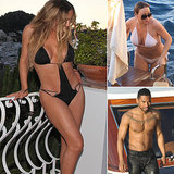 Mariah Carey Keeps the Bikini Fun Coming in Capri
