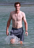 Andy Murray made a splash in March when he hit the waters in Key Biscayne, FL.