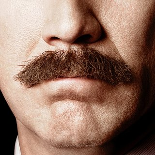 Anchorman 2 Poster With Mustache