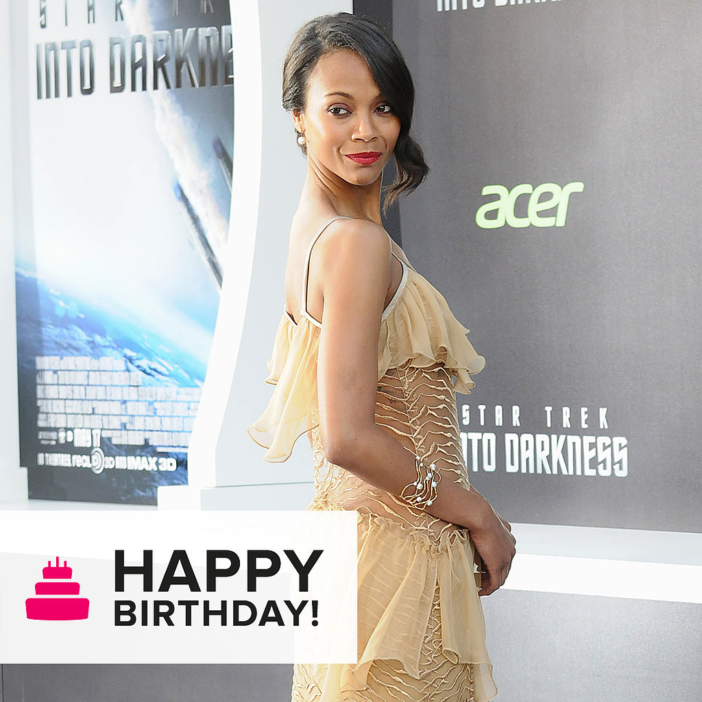 105 Reasons Why We Love Zoe Saldana's Style